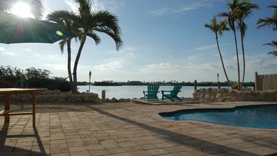 Photo for Coco Plum Paradise • Private Bayfront Home • Pool, Hot Tub, Dock & View