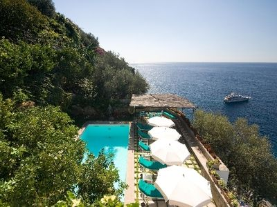 Photo for Villa rental with pool in Positano