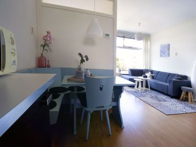 Photo for New apartment with 2 separate bedrooms and free parking