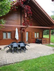 Photo for 3 * chalet for 8/9 people with jacuzzi
