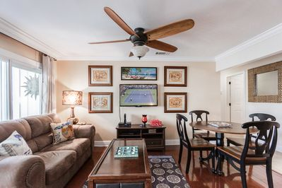 Living Area - Welcome to Destin! This condo is professionally managed by TurnKey Vacation Rentals.