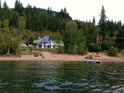 Photo for Semi-Lakefront, Water Trampoline, Hot Tub, Canoe, Paddle Boards, Kayaks