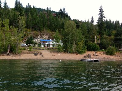 View of home from the Lake.