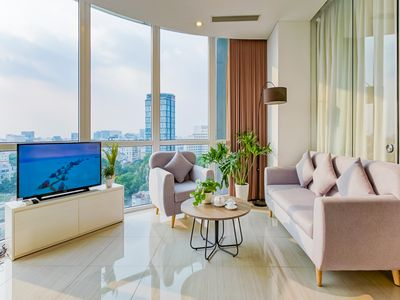 Photo for 10.2A - BENTHANH, Brandnew, Breathtaking CITY SKYLINE Condo