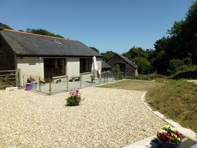 Photo for Converted detached barn in peaceful South Hams location close to Dartmouth