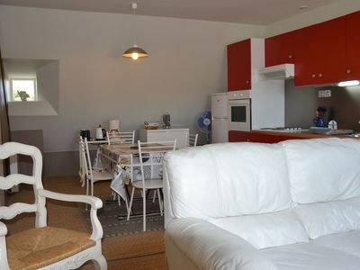 Photo for Holiday apartment rental for 4 per rance, harbor view at 300M