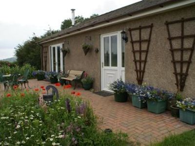 Photo for Visit Wales 4 Star graded, self-catering, two bedroom detached country bungalow