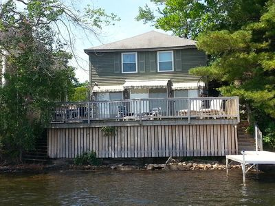 Photo for Centrally Located, Dog Friendly, Vintage Lake House With Contemporary Amenities.