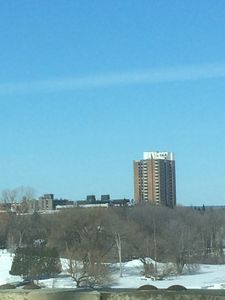 The view of the Condo Building