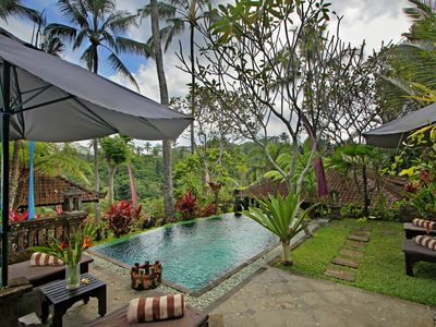 Photo for A Beautiful tranquility 2 bedroom Villa, Near Ubud!