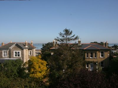 Photo for STUNNING, LIGHT, AIRY APARTMENT, 2 BEDROOMS, BY BEAUTIFUL BEACH. SEA VIEWS, WiFi