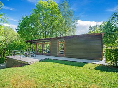 Photo for Cozy Chalet in Trois Ponts with Forest Near