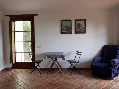 Photo for Apartment with double bed, bathroom, small kitchen and large terrace.