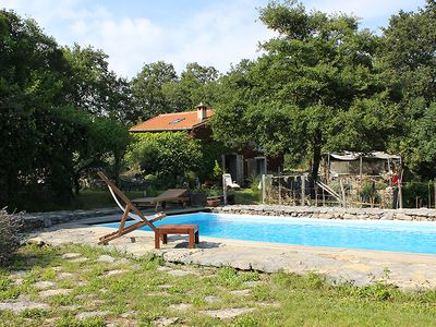 Photo for Lovely cottage, realized by the owner - an artist, pool, garden, great location