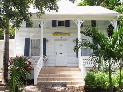Charming, historic home in Old Town Key West.