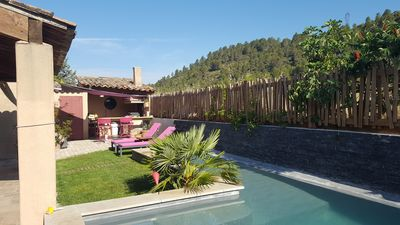 Photo for STONE PROVENCAL 180 M2 WITH POOL - GARDEN - BBQ - PLANCHA