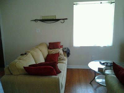 Living Room area also has matching love seat