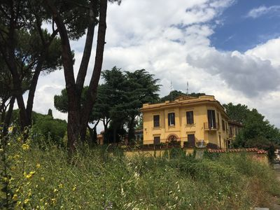 Photo for Villa apartment in the archaeological park of Appia Antica close to Colosseum