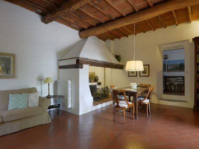 Photo for Florentine Hills Fattoria Il Leccio Agriturismo Elegant Suite with Swimming Pool