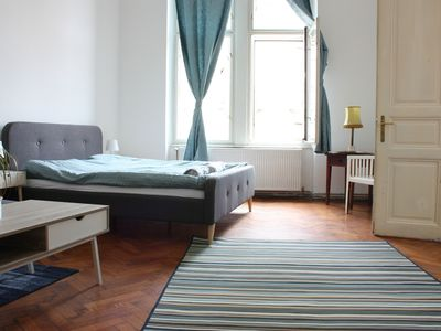 Photo for Beautiful Antique Central Zagreb Apartment, 100m2