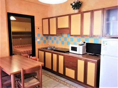 Photo for Bussola two-room flat in town centre short walk from the beach