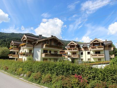 Photo for Fabulous ski-in ski-out penthouse right on the slope, with 4 bedrooms