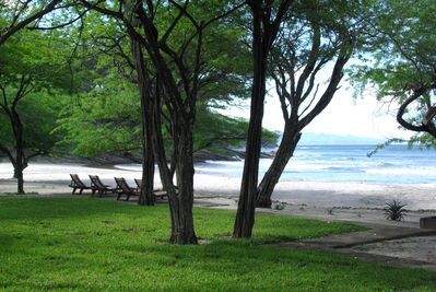 Enjoy the Pacific surrounded by beautiful gardens