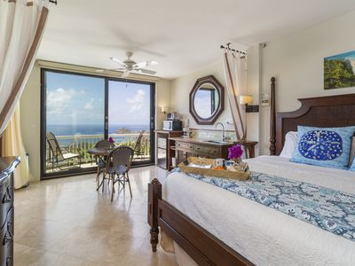 Photo for Honeymoon/Romantic Private Suite with Ocean View & Pool; Over 100 5 Star Reviews
