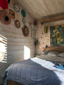 Photo for Lodge at Isle sur la Sorgue. Modern cabin in Provence