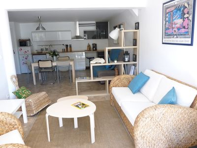 Photo for Nice apartment in a very quiet environment, 10 minutes from the beaches