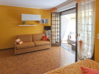 Photo for IN BELLAGIO THE TERRACE APARTMENT WITH SOLARIUM PARKING