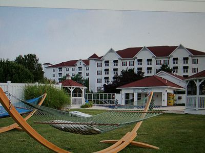 The Suites at Hershey Great Vacation Place close to Hershey Park. It also in the Heart of Pennsylvania Dutch Country