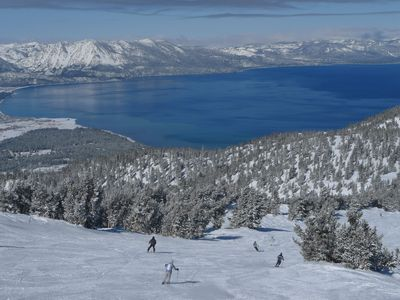 Beautiful Lake Tahoe Skiing & Snowful Fun