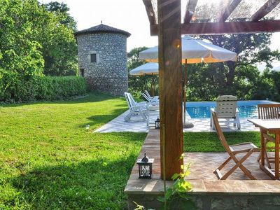 Photo for Charming Farmhouse in a Natural Paradise between Rome and Florence