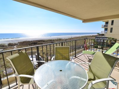 Photo for OCEANFRONT PARADISE! Balcony feat. STUNNING VIEWS + TOP LOCATION * POOL * WIFI!