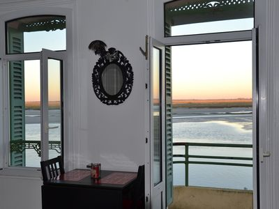Photo for beautiful apartment in Saint Valery Sur Somme with balcony facing the bay