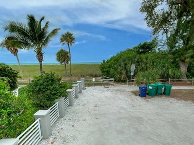 Photo for ASK ABOUT LAST MINUTE DEALS FREE WiFi & Trolley ONLY STEPS  to Pristine Sandy Beach NO Roads to cross!