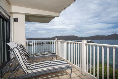 Relax on the large balcony and enjoy the Caribbean breezes.