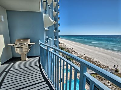 Photo for Aug 3rd week just reduced, New Resort On the Beach,Walk to Pier Park