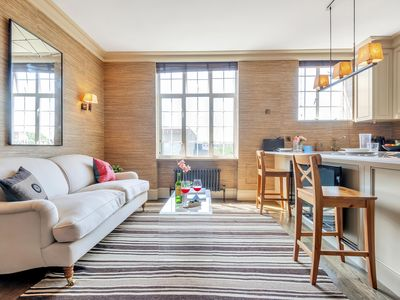 Photo for Spacious Chelsea Manor Gem  apartment in South Kensington with .