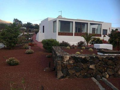 Photo for Bungalow MAROKAU in Las Breñas for 2 persons with pool terrace garden , WIFI on the go and views to the ocean volcanoes , WIFI on the go and 4km from the beaches
