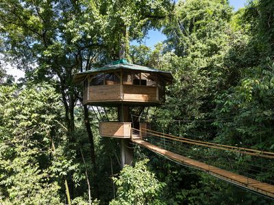 Photo for Ultimate Treehouse Experience, Observation Deck, Suspension Bridge, Jungle Bliss
