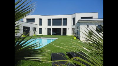 Photo for Exceptional villa of 350 m2 in Cap d'Agde, 460 meters from the beach