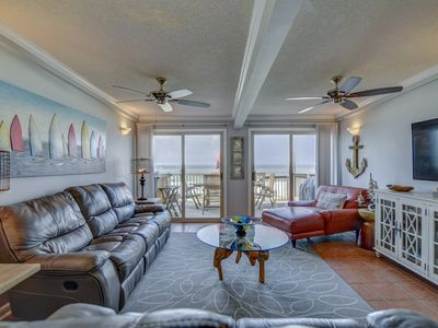 Photo for *Beachfront Home* - Great for Families