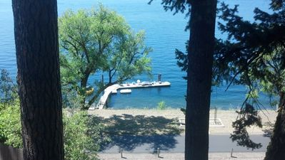 A Studio with a View above lake and Centennial Trail--Dock Access Included