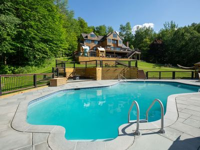 Photo for SECLUDED LUXURY LODGE ON STRATTON WITH VIEWS!