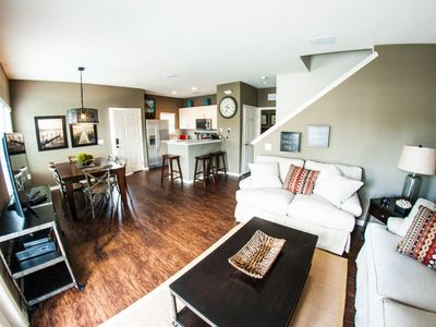 Photo for Enjoy Orlando With Us - Lucaya Village - Feature Packed Relaxing 4 Beds 3 Baths Townhome - 3 Miles To Disney