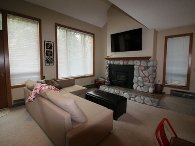 Photo for Cozy Glacier Condo #112 Closest condos to Mt Baker Ski Area and National Forest