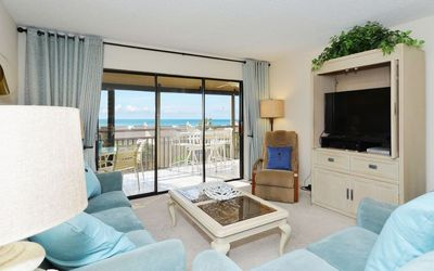 Photo for Chinaberry 456 - 2 Bedroom Condo with Private Beach with lounge chairs & umbrella provided, 2 Pools, Fitness Center and Tennis Courts.