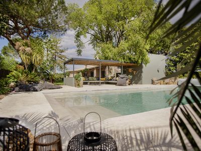 Photo for Holiday Home Heated Pool and Jacuzzi